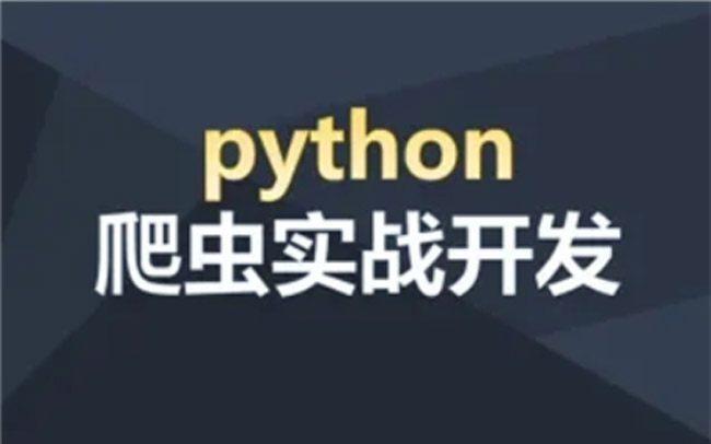 Python爬虫实战开发视频教程
