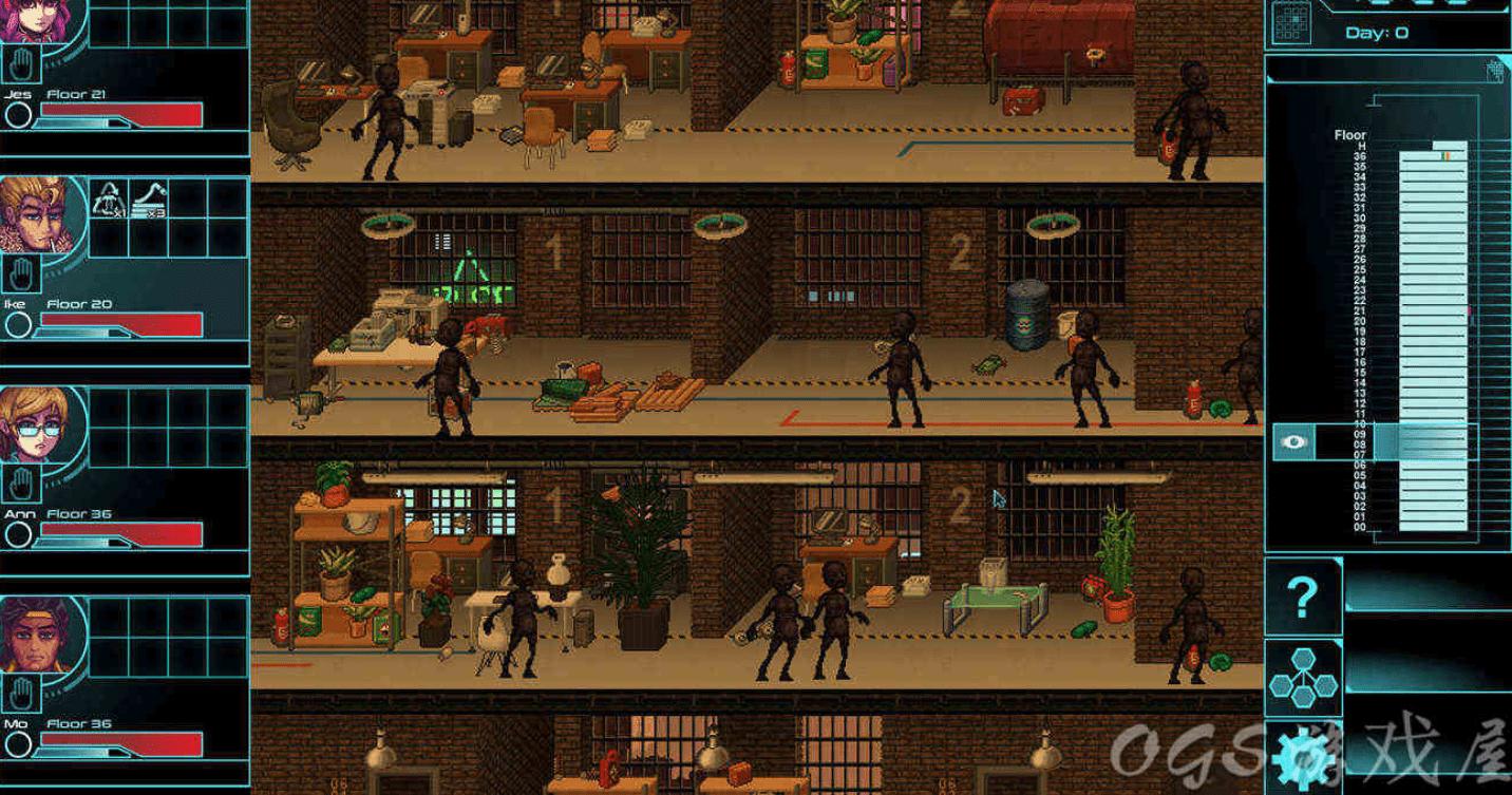 【简中】求生楼上楼   Highrisers   城市生存RPG游戏【救世版】